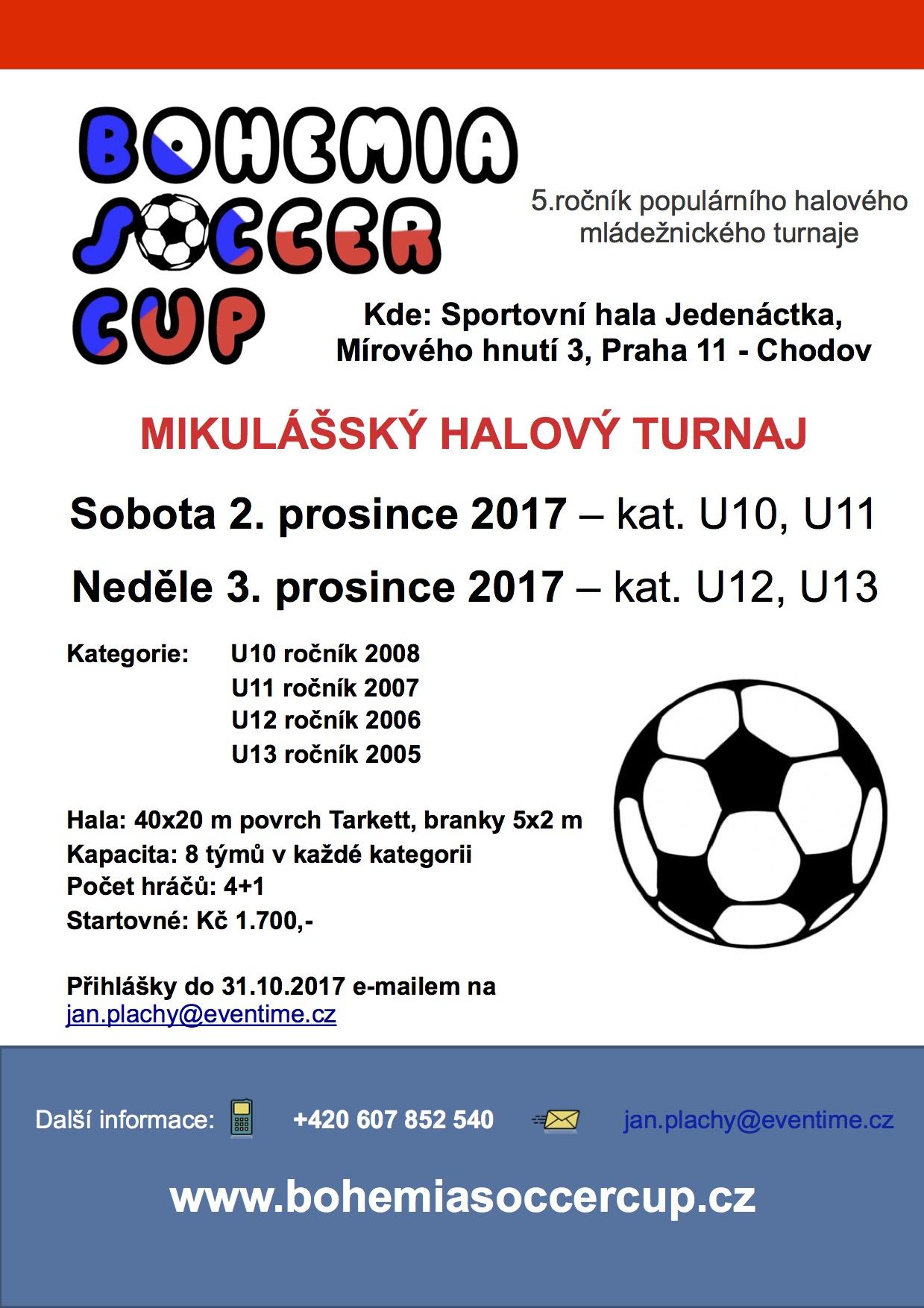 Bohemia Soccer Cup 2017