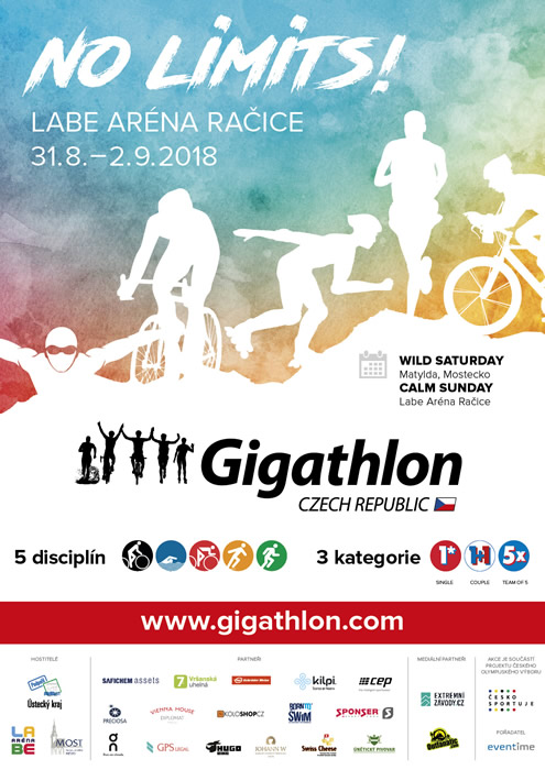 Gigathlon Czech Republic 2018