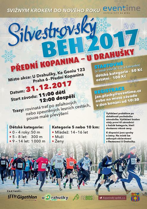 Silvestrovský běh 2017