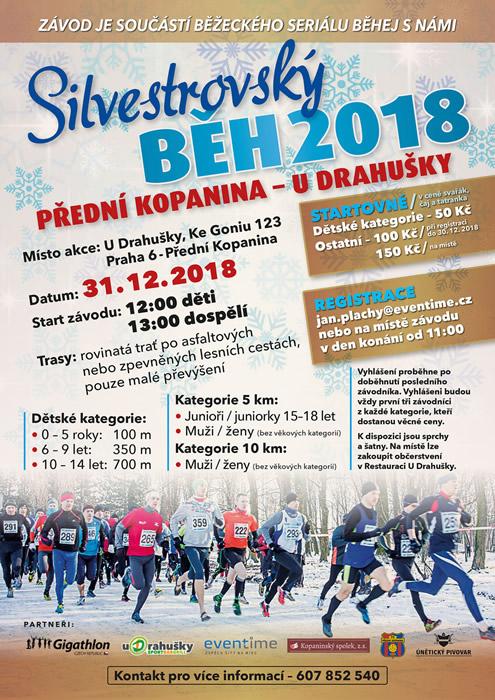 Silvestrovský běh 2018