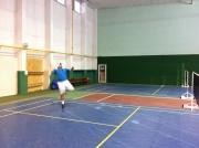 Jaroslav Mach na badmintonu