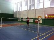 Pavel Nový na badmintonu
